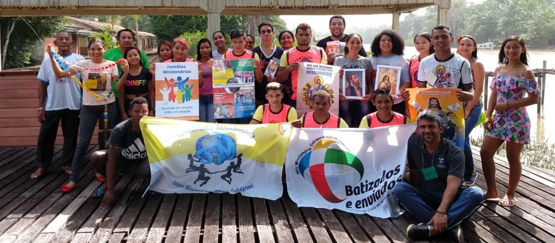Juventude ribeirinha do Amapá aprofunda a missão