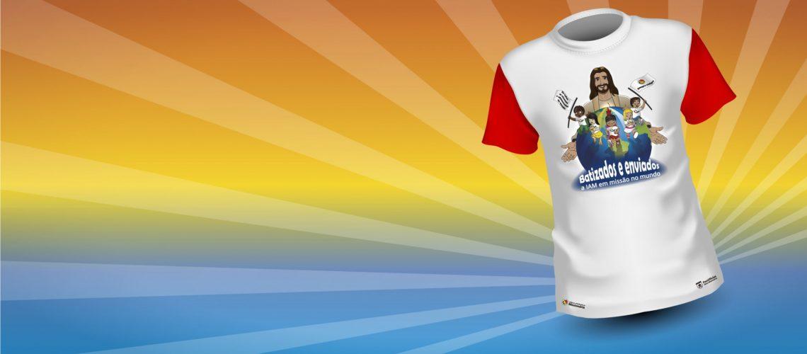 Camiseta da Jornada da IAM tem arte oficial