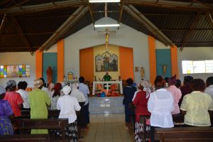 Celebrazione nel Santuario N. S. Consolata
