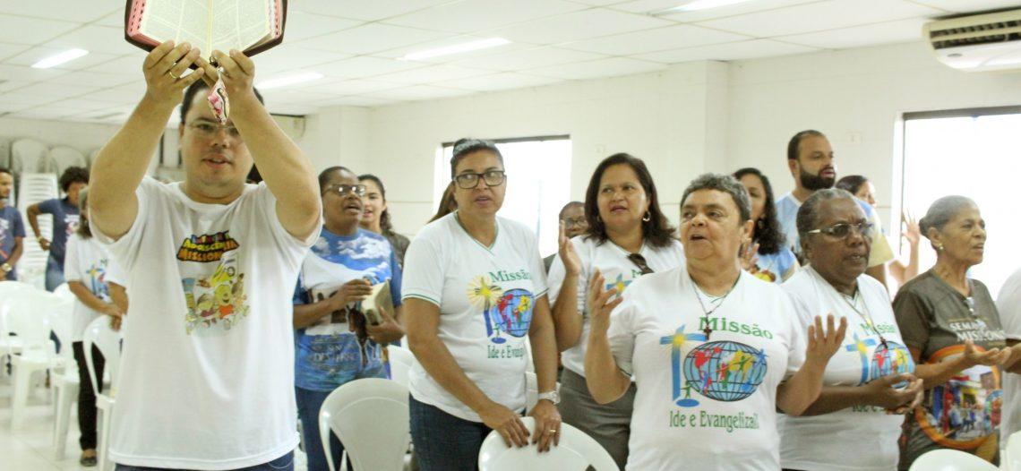 Escola Missionária do Vicariato Cabo reflete a vocação batismal