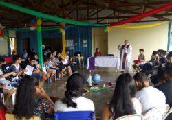 Encontro de apresentação da JM no Pará