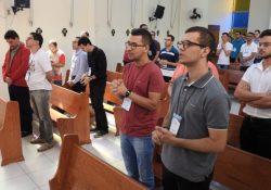 Seminaristas realizam formação no Regional Leste 2