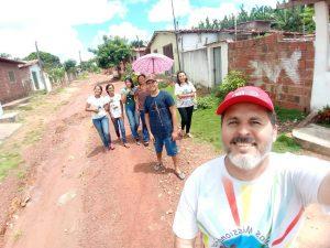Nas ruas de Cana Brava