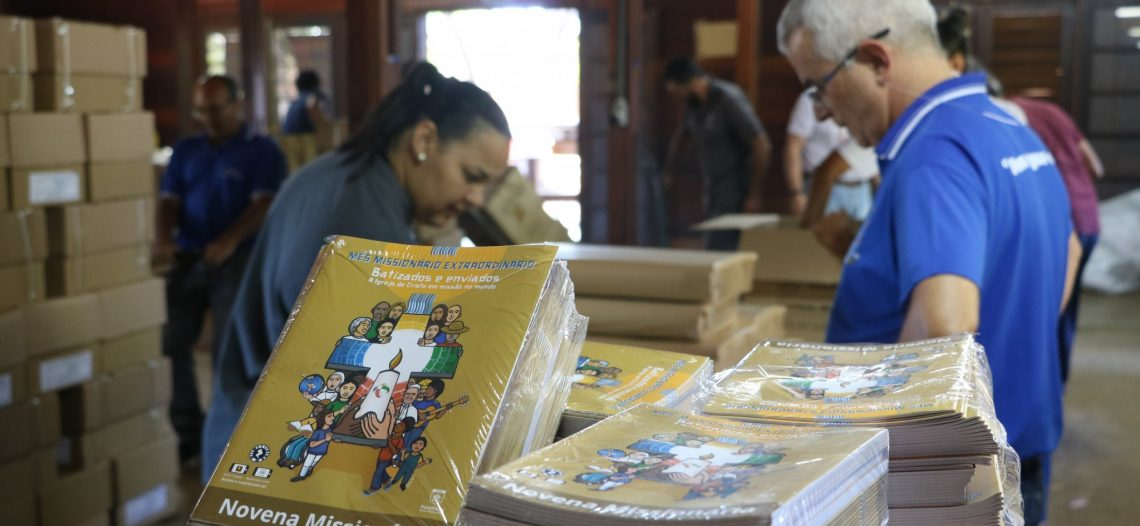 POM envia materiais da Campanha Missionária
