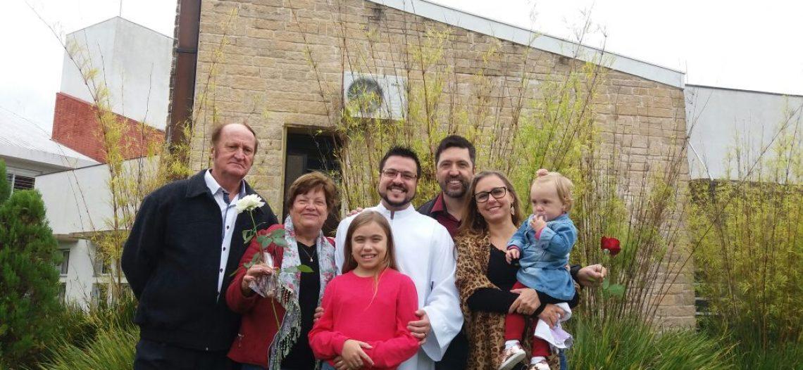 Seminarista da Diocese de Osório (RS) foi enviado para experiência missionária