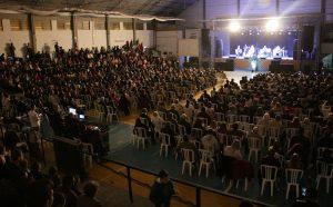 Show missionário reuniu mais de 1500 pessoas