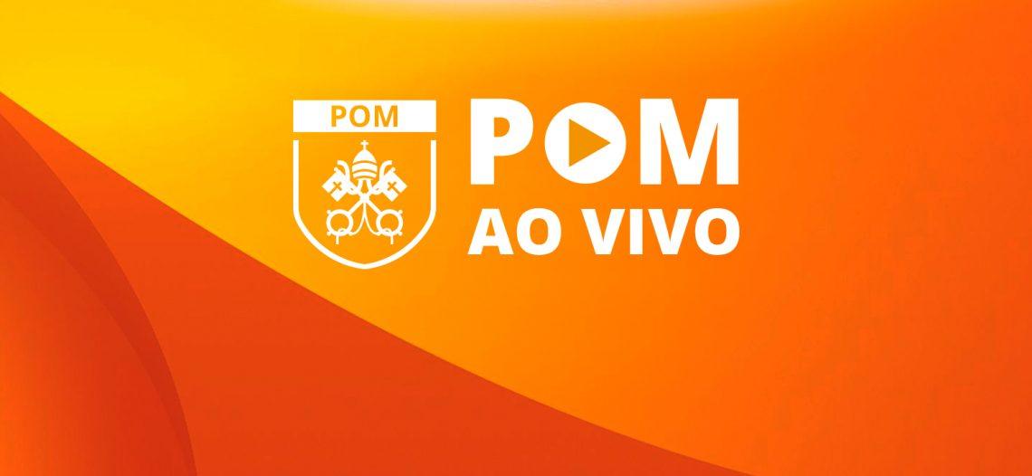 Programa POM AO VIVO estreia nas redes sociais