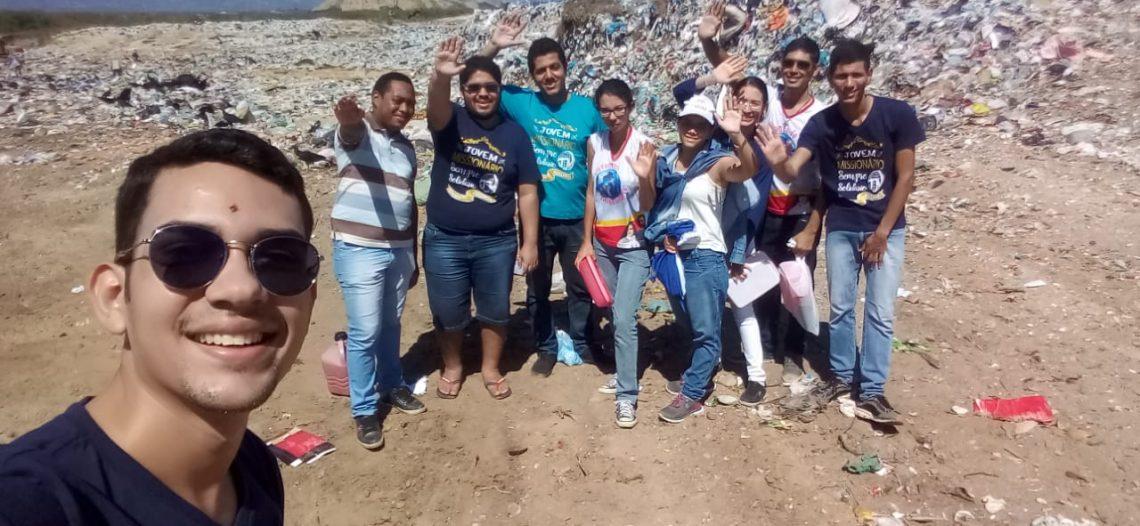 JM da Diocese de Patos (PB) visita aterro de resíduos sólidos