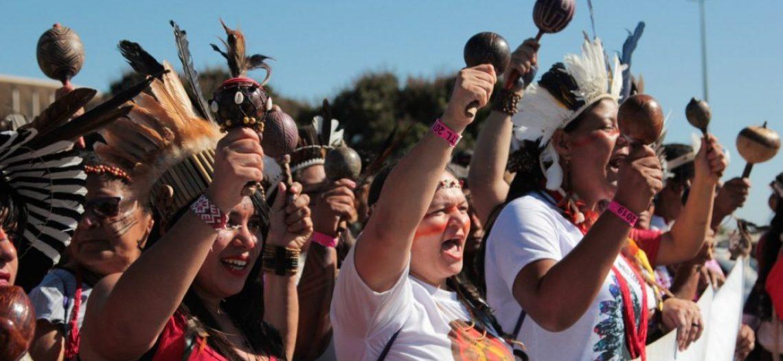 Mulheres indígenas divulgam manifesto