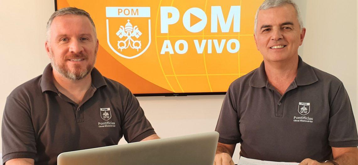 Mês Missionário foi o tema da live POM AO VIVO