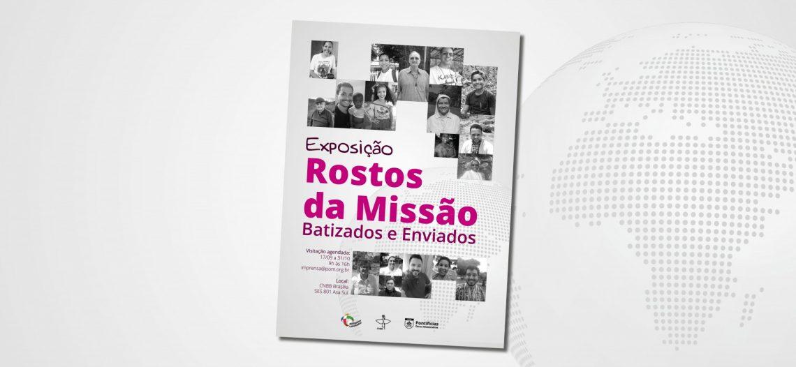 """Exposição """"Rostos da Missão"""" celebra o mês missionário"""