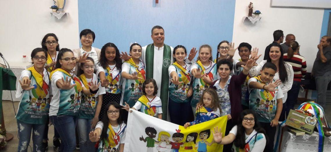 Abertura do Mês Missionário e consagração IAM na Diocese de Registro (SP)