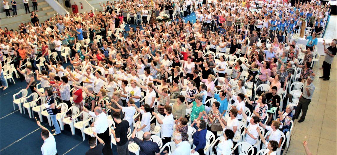 Encontro de Zeladoras da diocese de Caxias do Sul (RS) reúne mais de 800 pessoas