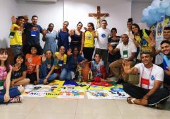 Encontro de animação missionária da JM em Goiás