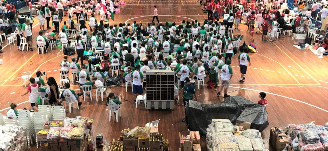 Gincana arrecada mais de 23 toneladas de donativos pelo Dia Mundial dos Pobres
