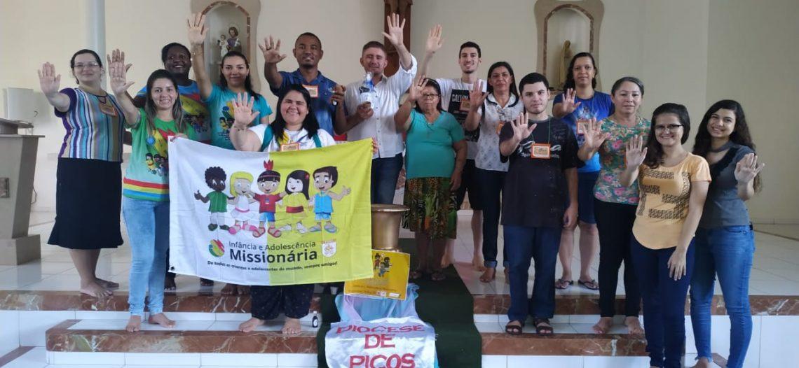 Curso de assessores e multiplicadores da IAM na Diocese de Picos (PI)
