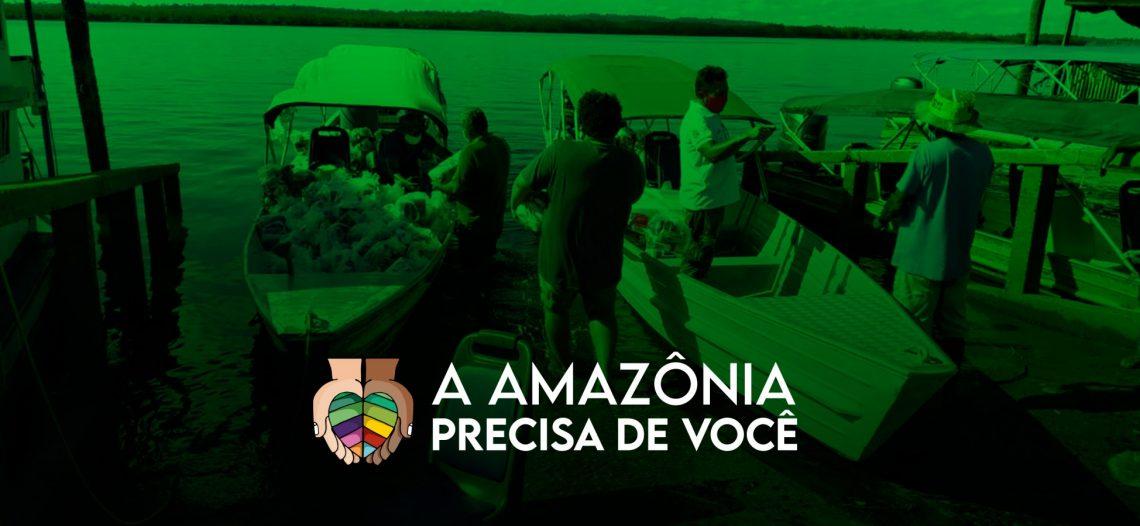 Região amazônica recebe mais 200 mil em doações
