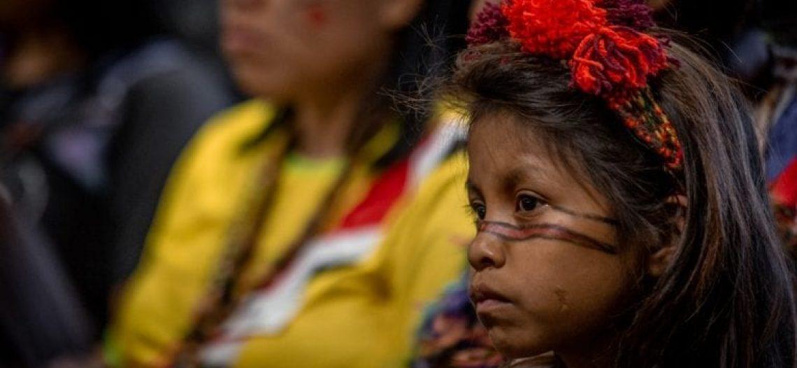 """""""Proteger os direitos das crianças indígenas é garantir a demarcação dos territórios"""", afirma jovem Guarani-Kaiowá na ONU"""