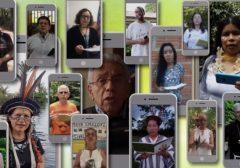 Representantes da região amazônica gravam reflexões sobre o sonho social do Papa Francisco