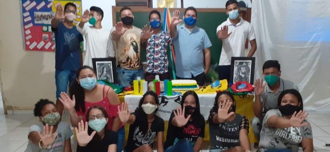 Juventude Missionária de Candeias do Jamari, em Rondônia, celebra o primeiro ano