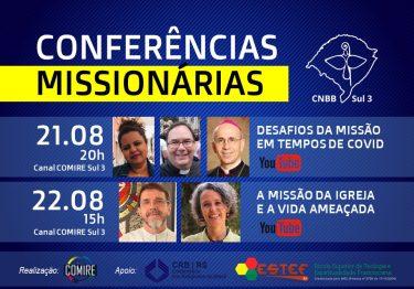 Comire Sul 3 promove conferências para formação missionária