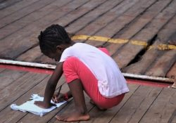 Migrantes, o drama dos menores desacompanhados