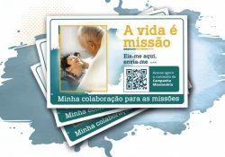 Doações para o Dia Mundial das Missões poderão ser realizadas de forma eletrônica