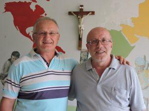 padres Jaime e Estêvão