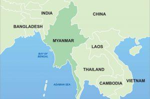 Myanmar-mapa